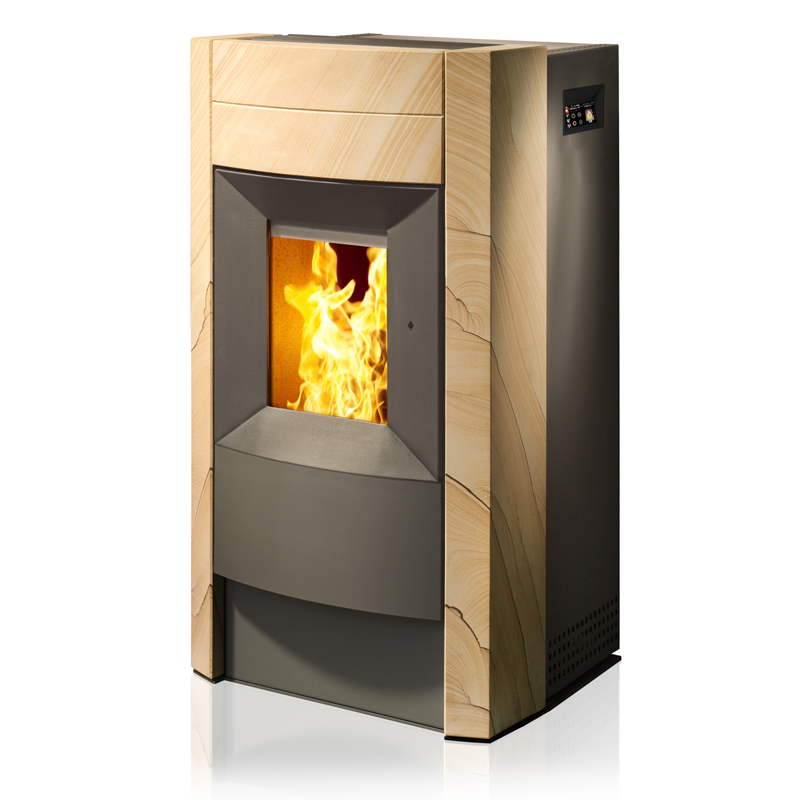 rika revo 9 kw biokachels. Black Bedroom Furniture Sets. Home Design Ideas